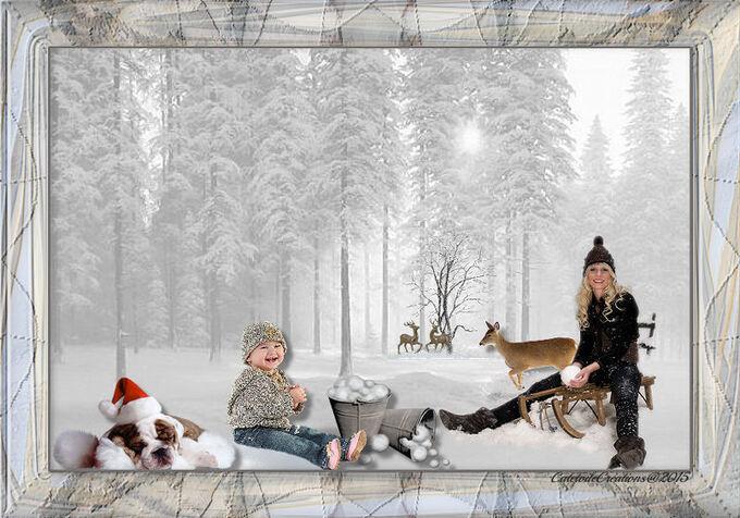 Mes Créations Hiver et Noël  Pour Vous Série 16