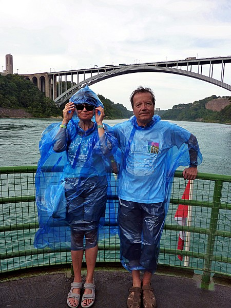 Niagara Falls Maid of the Mist eux