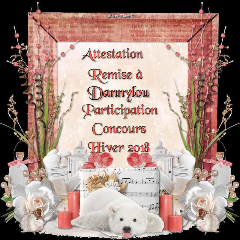 titre de participation concours hiver