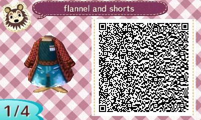 red flannel and shorts - long sleeves                                                                                                                                                                                 More: