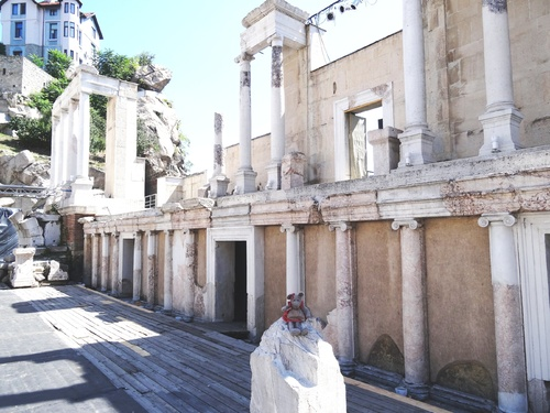 3000 ans d'histoire à Plovdiv, en Bulgarie.