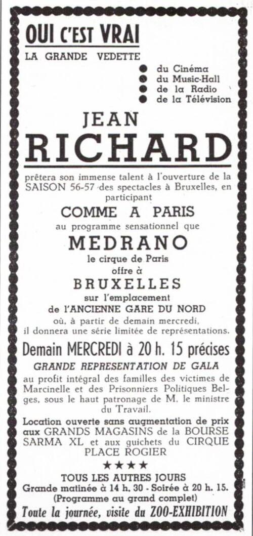 Jean Richard en  renfort