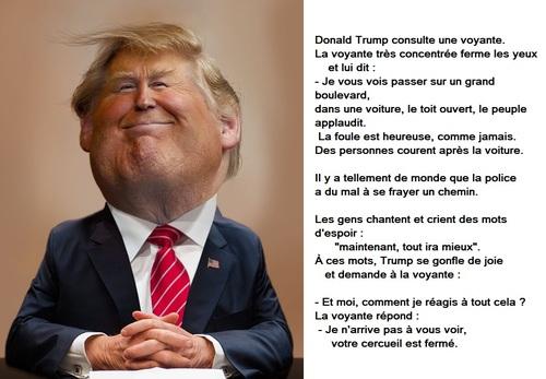Trump et la voyante