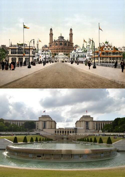 L'évolution de Paris du 19ème siècle à aujourd'hui