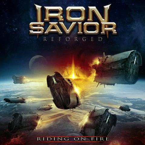 IRON SAVIOR - Un nouvel extrait de l'album Reforged - Riding On Fire dévoilé