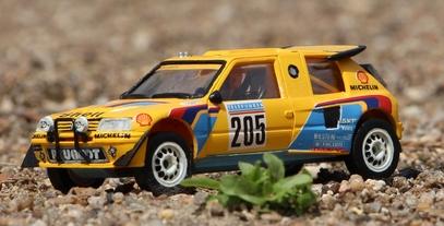 Peugeot 206 Rallye turbo 16
