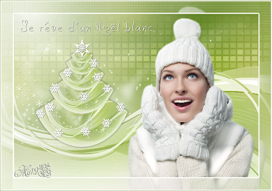 Je rêve d'un Noël blanc