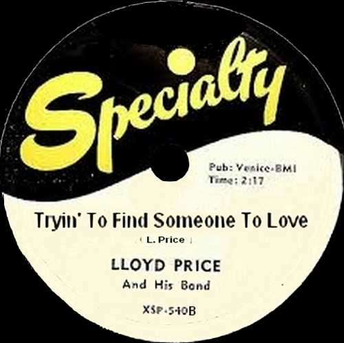 "Lloyd Price & His Orchestra : CD "" First Flight 1952-1956 "" Soul Bag Records DP 67 [ FR ]"