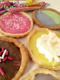 Festival de tartelette au Carambar: citron meringué au chamallow, bigoût, fruitée!!