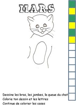 Dessiner des bonhommes-chats