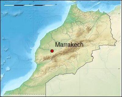 Marrakech 1 / Une ville sur la plaine