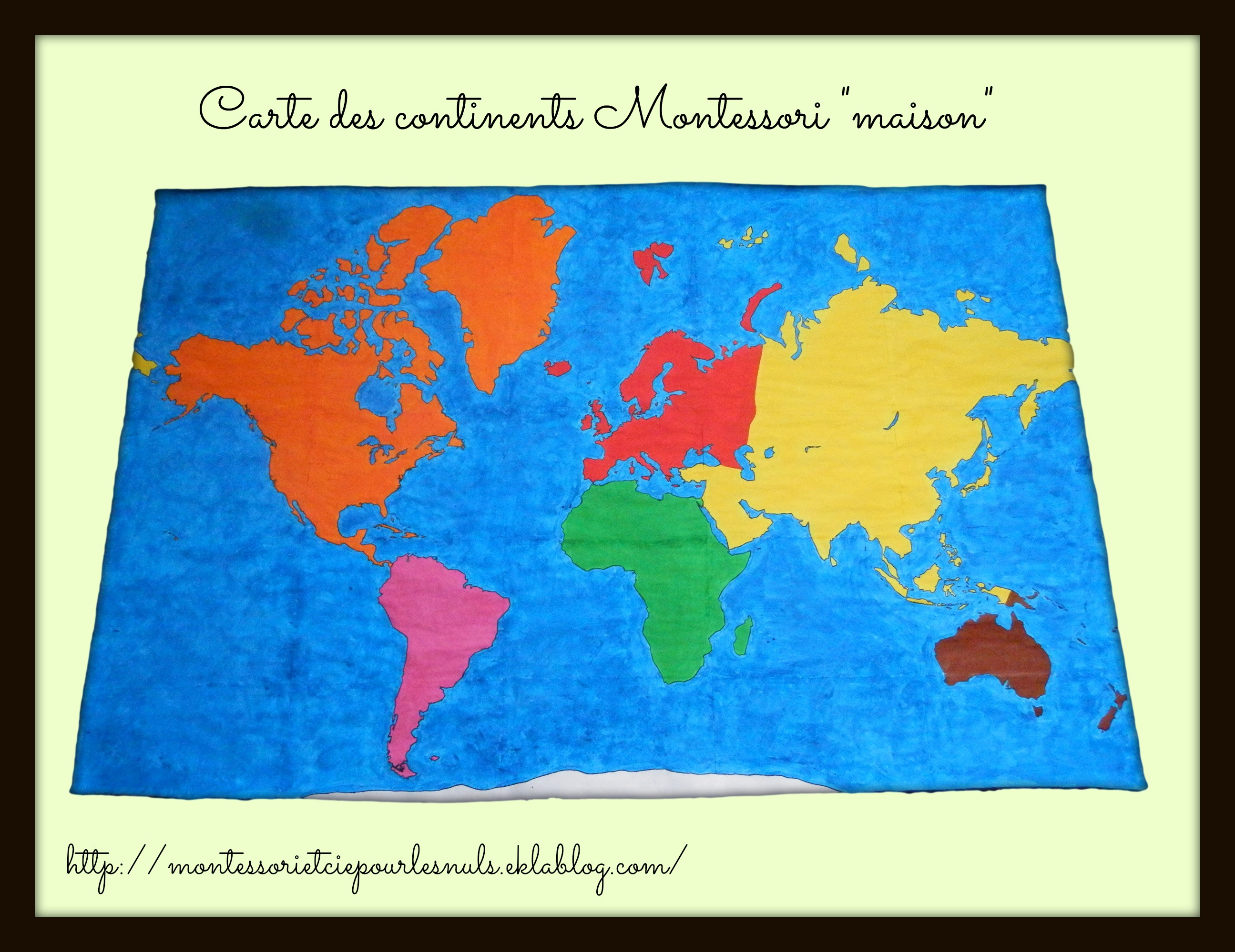 G ographie page 2 montessori etcie for Planisphere enfant