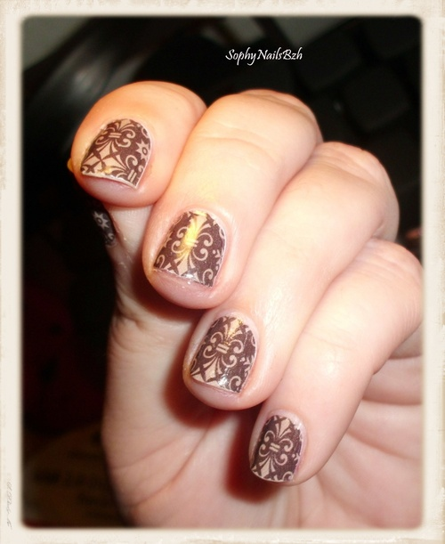 Nail Decal - Baroque