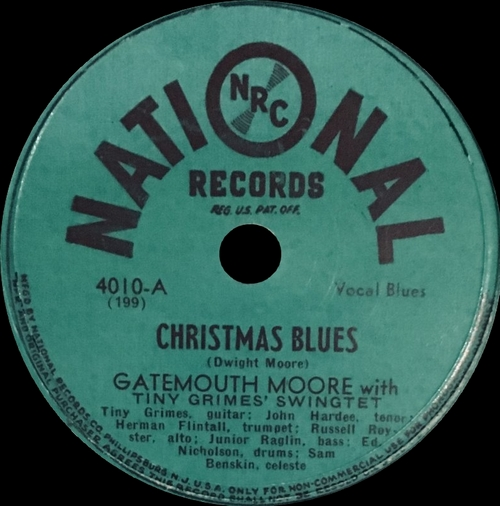 "Various Artists : CD "" A Rhythm & Blues Christmas "" Gusto Records Inc. GT7-2139-2 [ US ]"