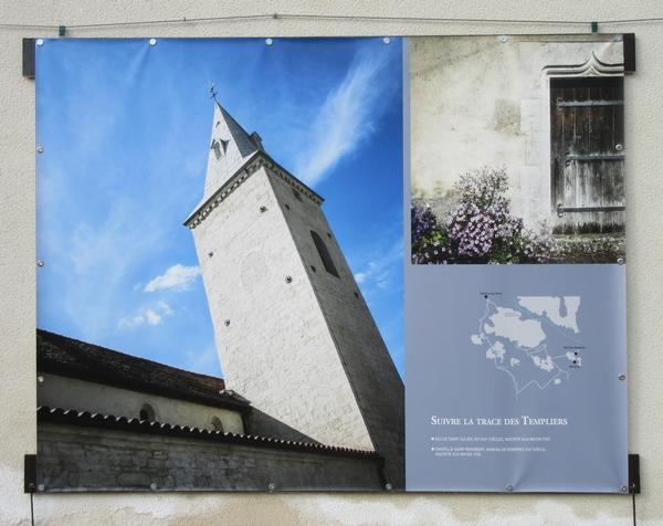 Les superbes photos automnales de Claire Jachymiak ont animé les murs de la cour du Musée du Pays Châtillonnais