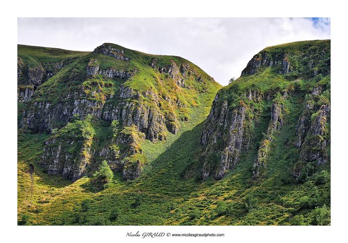 Monts du Cantal, de l'Impradine à la Santoire
