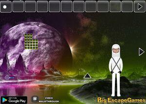 Jouer à Big The unknown planet escape