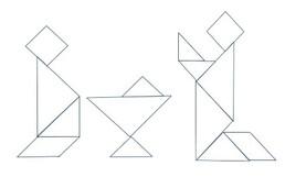 Noël en tangram