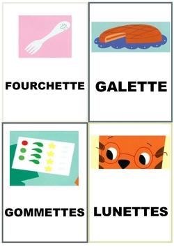 Chamalot et la galette : imag'mots