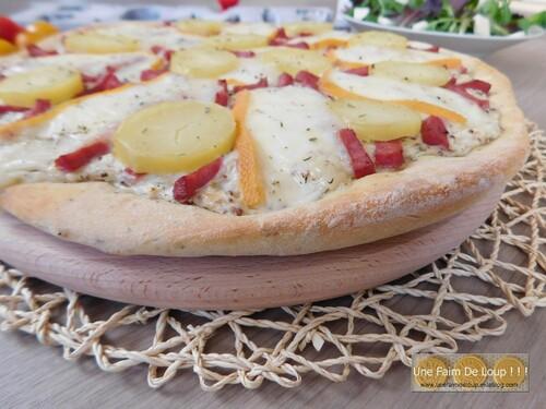 Pizza savoyarde à la raclette