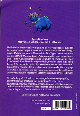 Chronique de deux tomes de la saga {Molly Moon}