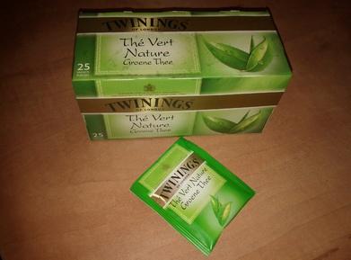 Thé vert nature de Twinings