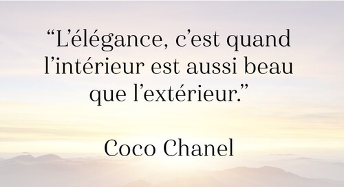 QUELQUES CITATIONS....