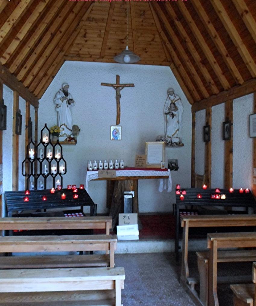 VACANCES: 2013 PRAZ SUR ARLY 74 col de l'Aravis et sa chapelle  13/10/2013