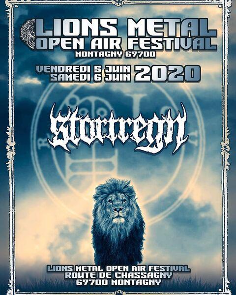 LIONS METAL FESTIVAL 2020 - STORTREGN rejoint l'affiche