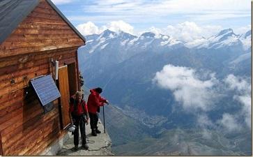 Les refuges de montagne ...