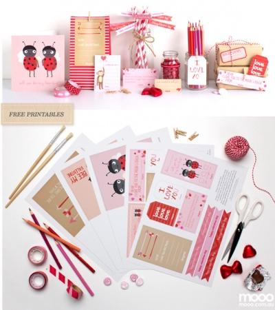 DIY de Saint-Valentin - Les cartes à imprimer
