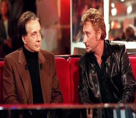 Cette scène surréaliste entre Johnny Hallyday et Michel Sardou