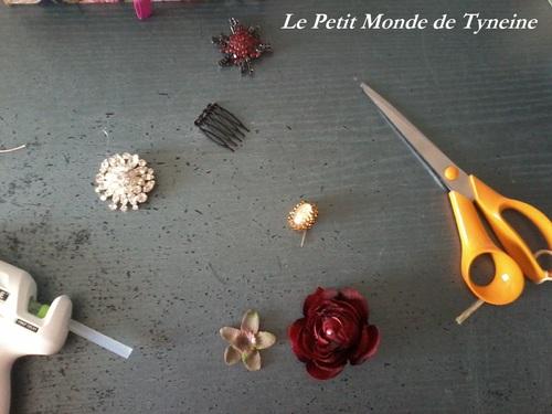 """Bijoux de cheveux """"Belle époque"""" - Spécial Bal"""