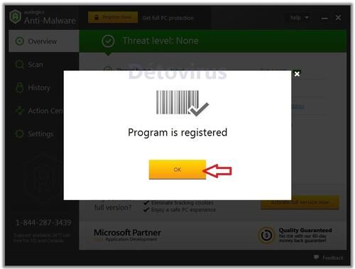 Auslogics Anti-Malware 2015 - Licence 365 jours gratuits