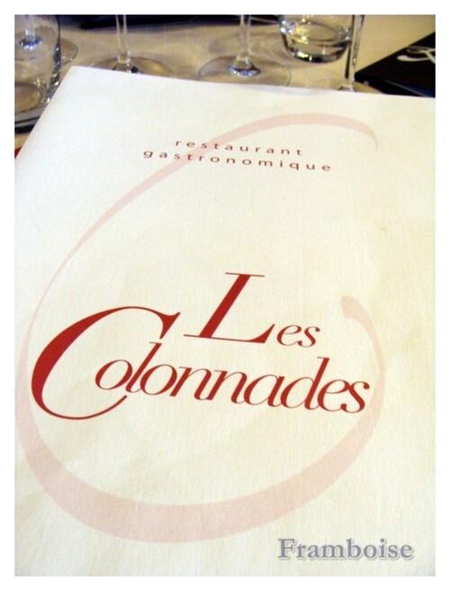 Restaurant LES COLONNADES à Pornic