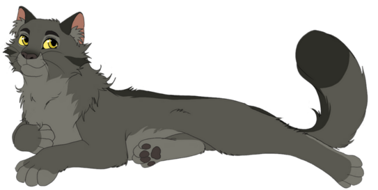 Graystripe reference by AnnaGiladi on DeviantArt