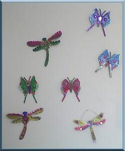 Papillons de NOEL ( réalisation )