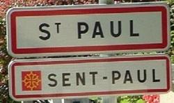 Limousin: Saint Paul 87, La randonnée du «sentier du Menhir» .