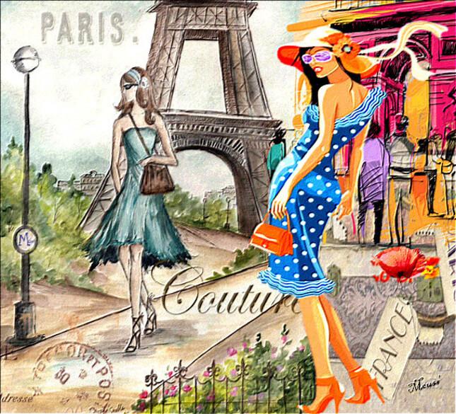 SHOPING PARISIEN - Défi de NathieOr