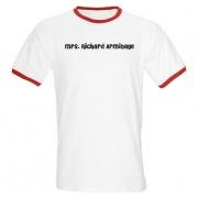 T-shirt Mrs Richard Armitage