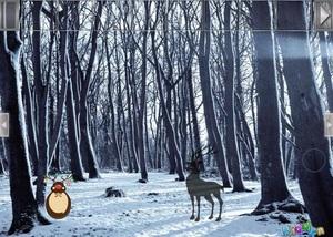 Jouer à Hidden snow forest
