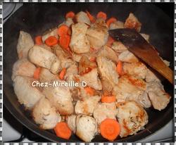 Filet de Dinde Carottes Champignons