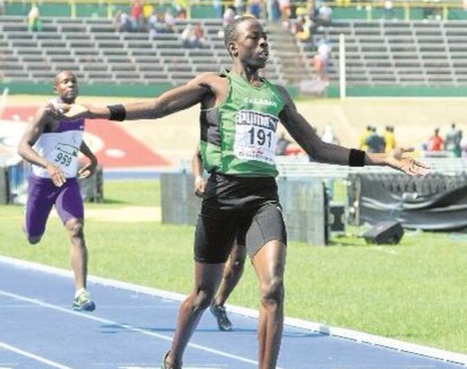 Bolt battu par Francis