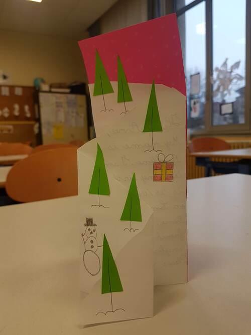 Des petites cartes sympas sur le thème de l'hiver