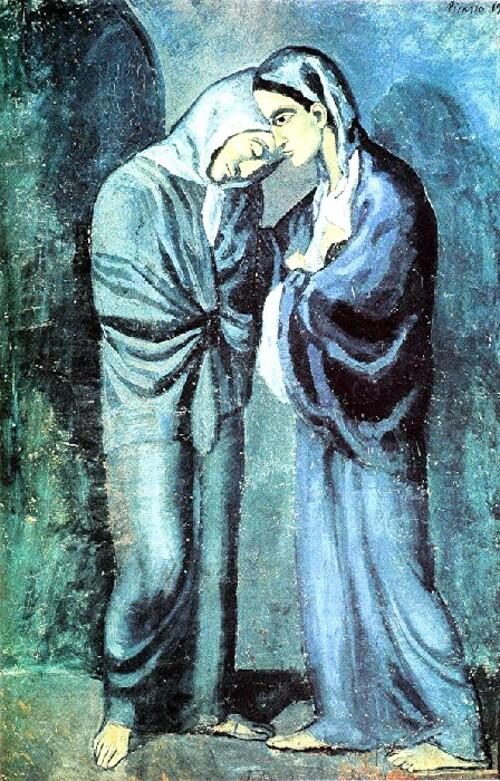 Picasso 8 / 1902 ,la période bleue (2)