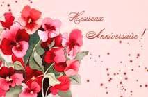 (-*♥*-)  Merci mes amis(es) pour vos souhaits d'anniversaire (-*♥*-)