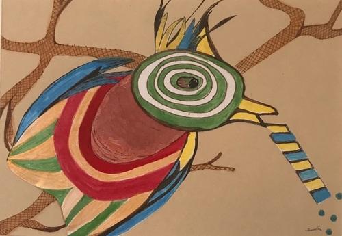 Jamadrou et l'oiseau lyre
