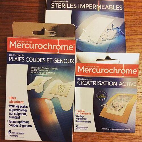 Dans ma pharmacie je fais confiance à Mercurochrome