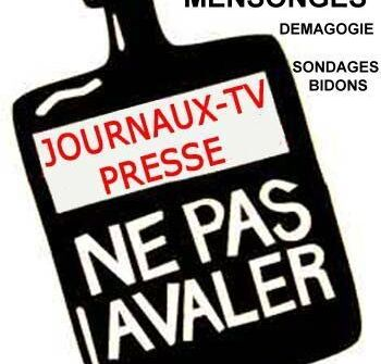 presse-poison MEDIAS MENSONGES