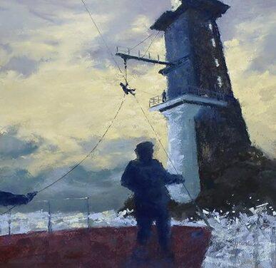 jean yves marrec : peintre pastelliste breton